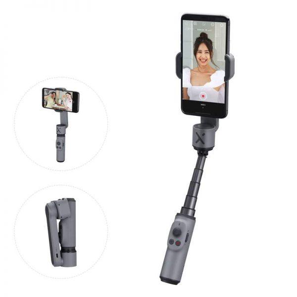 stabilizzatore grigio smartphone